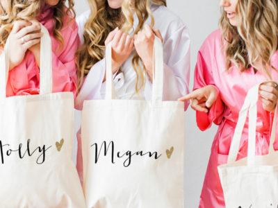 Name Tote Bags