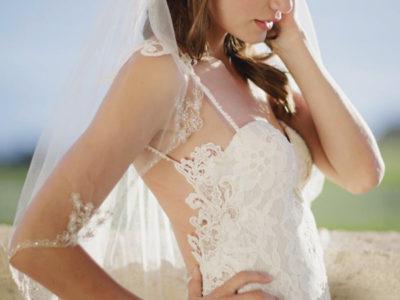 Embellished Tulle Veil
