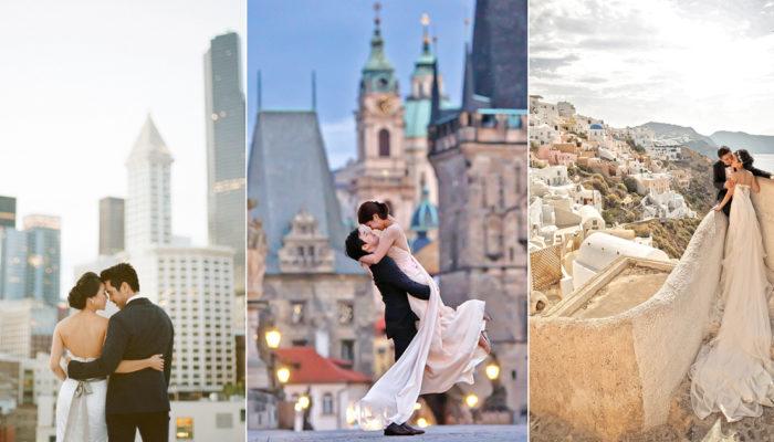 城市的驕傲! 誰說婚紗照只能拍郊區風景? 28張絕美城市婚紗攝影佳作!