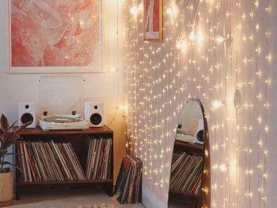 Long Copper Firefly String Lights