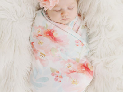 Organic Cotton Swaddle Blanket