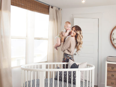 Convertible Oval Crib