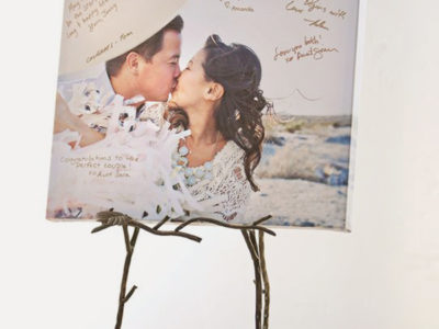 Canvas Print Guestbook