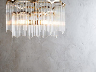 Arched Waterfall Chandelier