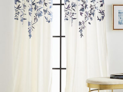 Embroidered Isa Curtain