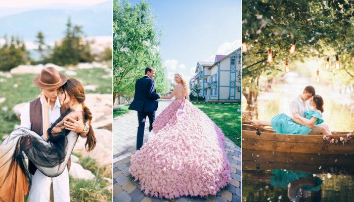我的童話不是夢! 這些攝影作品把婚紗照拍成了童話故事書!