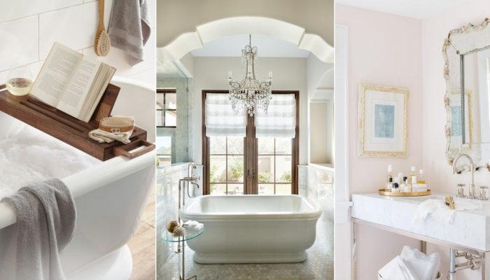 打造美好居家環境! 7種創造高質感浴室的創意方法!
