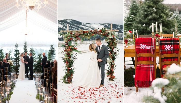 打造一場史上最夢幻的白色聖誕婚禮! 6場暖心創意聖誕主題婚禮!