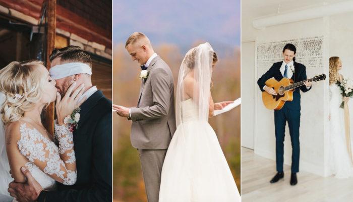 西式婚禮的 First Look 怎麼玩? 5 種讓 First Look 更感動難忘的創意互動!