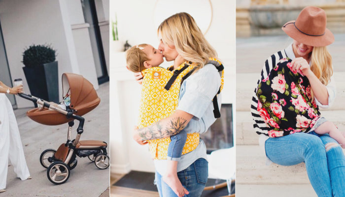 當了媽還是要時尚!  15個歐美時髦媽咪必備親子外出用品!