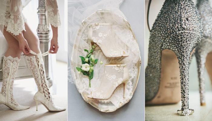 冬季新娘必需掌握的5大婚鞋潮流,踏出溫暖的個性步伐!