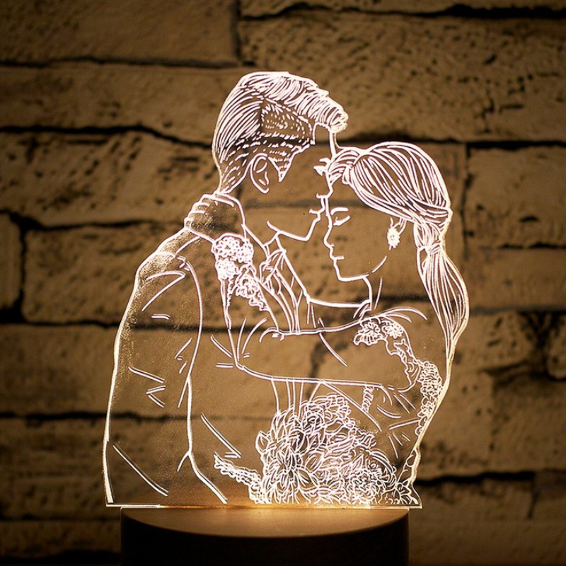 03-Custom portrait night light