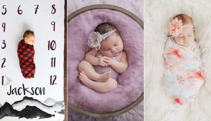 新生兒攝影道具哪裡找? 21個嬰兒寫真創意小道具!