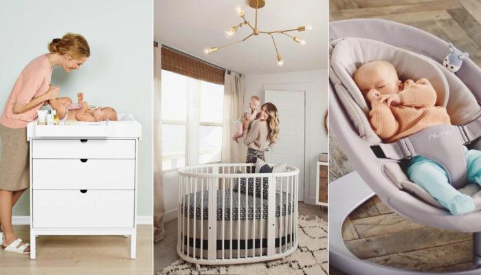 嬰兒房必備! 實用又時尚的新手爸媽育嬰物品清單!