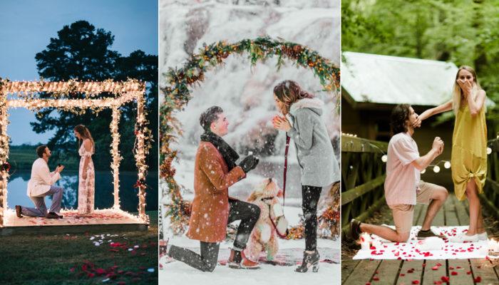 值得珍藏的 Say Yes 求婚驚喜畫面! 25張動人心弦的求婚紀錄!