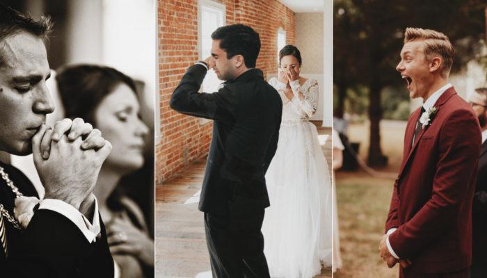 真情流露才是真男人! 17張完美捕捉Real Men的感人婚禮攝影作品