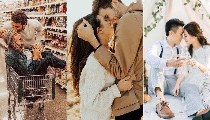 幸福感滿分的情人寫真! 17 張沐浴在愛中的浪漫便服婚紗!