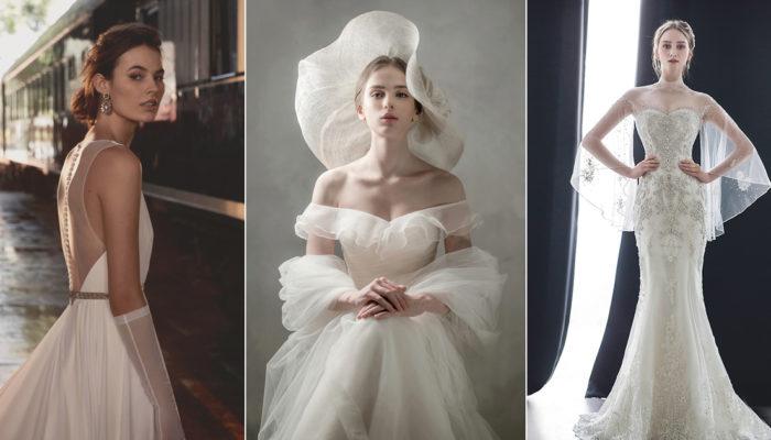 氣質就是不敗的經典! 15件優雅脫俗的高貴婚紗!