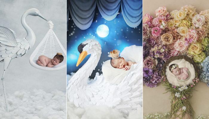 為寶貝打造愛的童話! 18 張畫風如故事書般的唯美的嬰兒寫真!