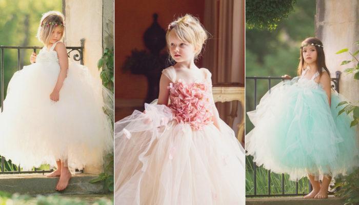 小公主的澎澎裙! 38件甜美可愛的小花童禮服