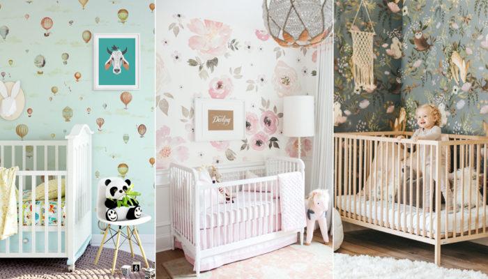 為寶貝打造全新世界的秘密武器! 20款溫馨可愛嬰兒房壁紙!
