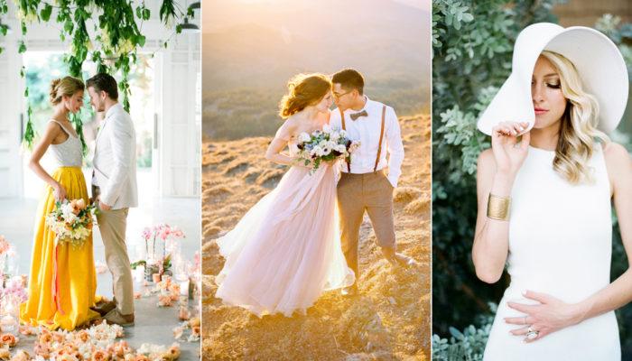 2018 春夏便服婚紗造型指南! 5個便服婚紗潮流助妳成為穿搭達人!