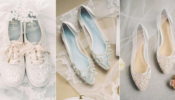 誰說新娘一定要穿高跟鞋? 30雙平底鞋新娘的專屬婚鞋!