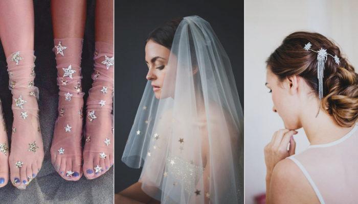 今年最夢幻的婚禮潮流! 19款浪漫無限的星空主題新娘服飾!