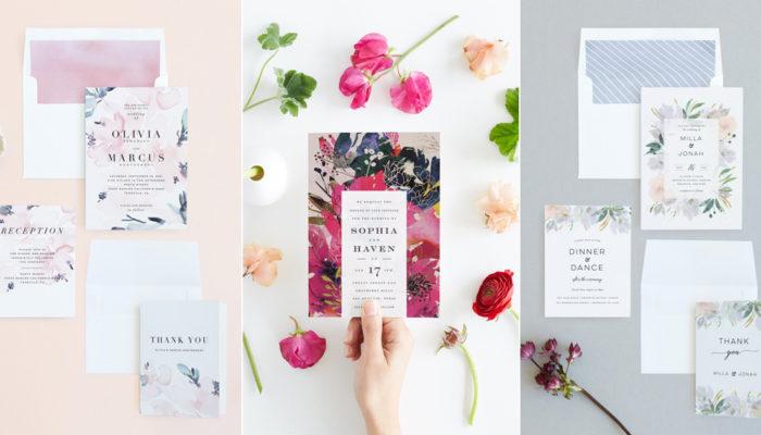 浪漫無限的美式婚卡! Minted 2018 全新時尚喜帖質感再升級,加送免費婚禮網站!