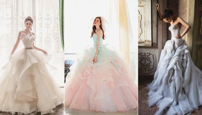 穿出最夢幻的時尚氣勢! 24件擁有豐富層次感的浪漫禮服!