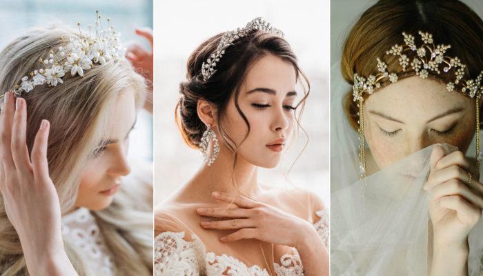 誰說公主一定要甜美? 25款超乎妳想像的個性派新娘皇冠!