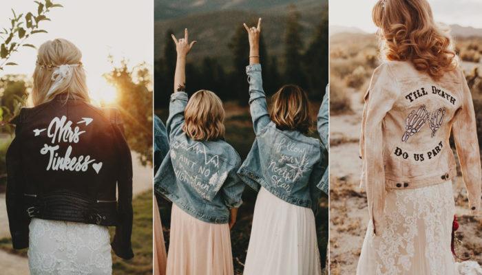 新娘也需要穿外套! 16件時尚新娘專屬的客製化個性外套!