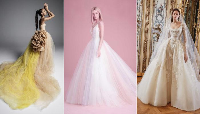 2019 春季婚紗搶先看! 婚紗時裝週最受矚目新作!