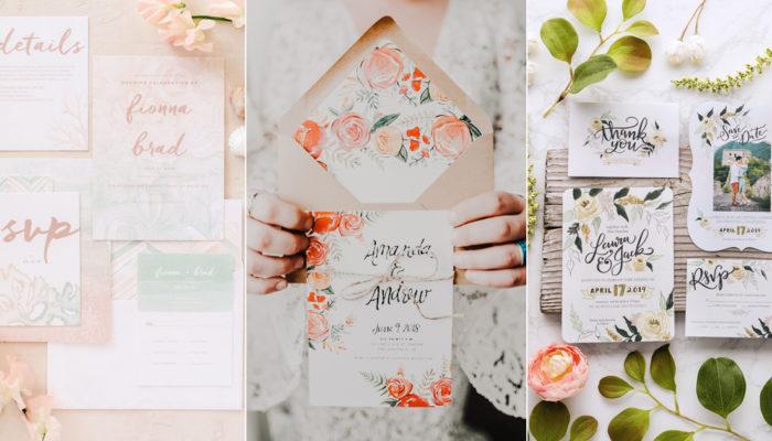 西式婚禮喜帖輕鬆DIY! 5 個時尚便利的線上客製婚卡網站!