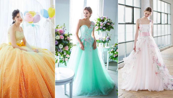 夏日仙境婚禮浪漫來襲! 20件適合夏季公主的婚紗禮服!