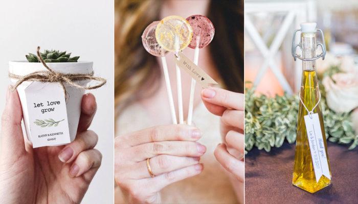 小驚喜大心意! 21個有創意又實用的婚禮小物!