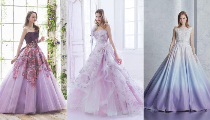 結合神秘與夢幻的年度色彩! 30件高貴優雅紫色禮服!
