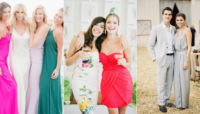 婚禮賓客服裝穿搭指南! 5個參加婚禮必掌握的時裝潮流!