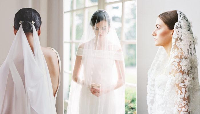 時尚新娘的最愛頭紗款! 15款結合極簡與前衛的夢幻頭紗!