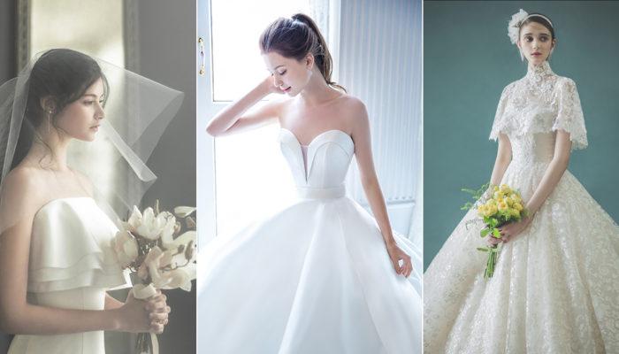摩登公主嫁到! 24件夢幻絕美微點綴婚紗!