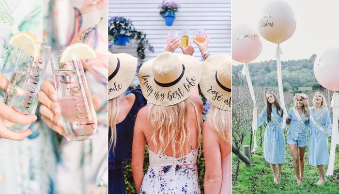 如何舉辦一場時尚婚前姊妹趴? 20個摩登女孩必備的婚前派對用品!