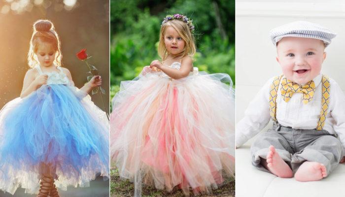 大人小孩都愛的小花童造型! 24套超可愛男女花童裝!
