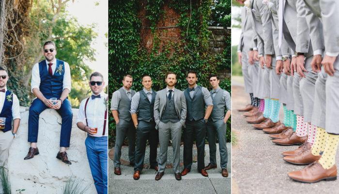新世代伴郎團時尚混搭新標準! 5大歐美最受歡迎創意潮男穿搭術!