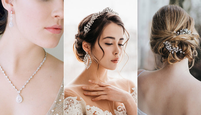 買得起的輕奢華飾品! 24款打造主角光環的時尚新娘飾品!
