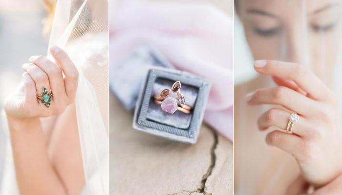 34款時尚手工個性婚戒,顛覆傳統的專屬訂婚戒指!