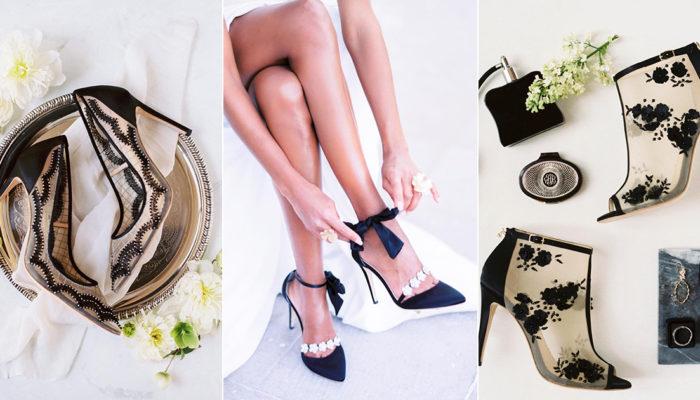婚鞋可以穿黑色嗎? 7雙妳絕對捨不得只穿一次的百搭黑色宴會鞋!