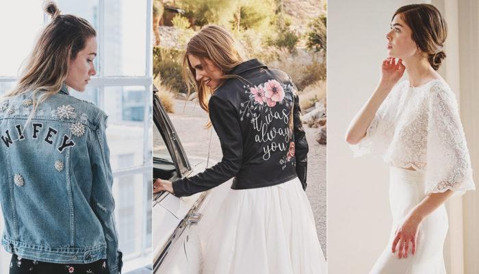 新娘披肩外套終於擺脫老氣Look! 18款時尚女神的個性外套!