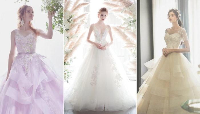 22件輕盈感仙女婚紗, 打造飄逸飛舞的夢幻情懷!