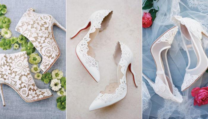 顛覆傳統的白色婚鞋! 35雙同時展現經典與時尚的白色新娘鞋!
