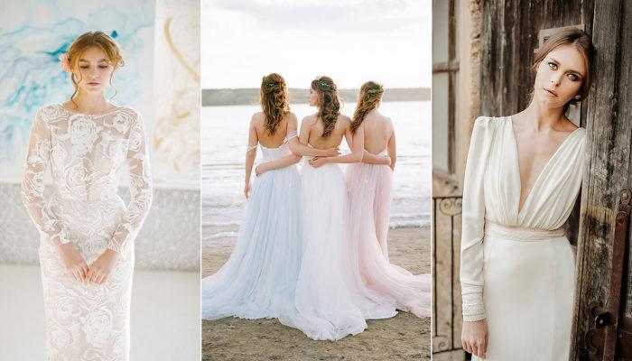 20件適合戶外婚禮和小型婚禮的時尚輕婚紗! 掌握輕便半正式婚紗潮流!